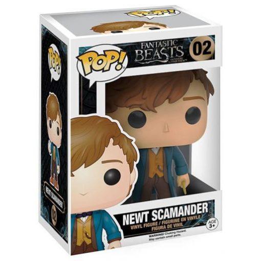 Fantastic Beasts, Newt Scamander