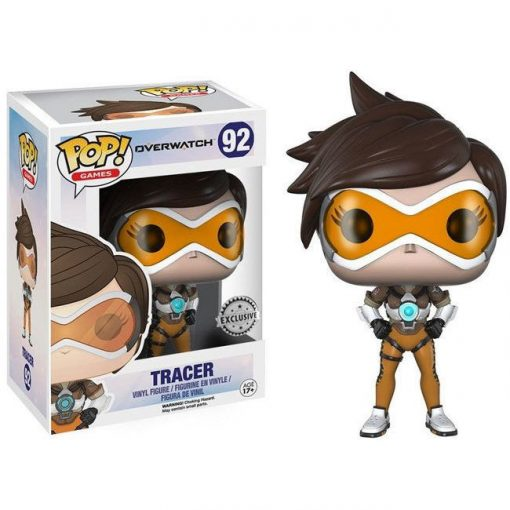 POP figura Overwatch Tracer Posh Exclusive