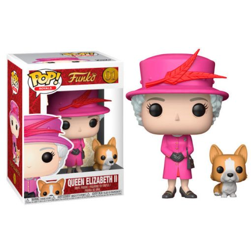 POP figura Royal Family Queen Elizabeth II