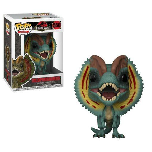 Jurassic Park, Dilophosaurus