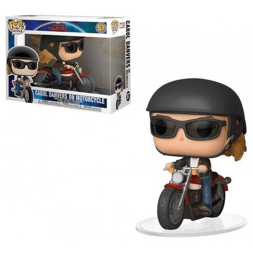 Marvel Kapitány, motorozó Carol Danvers