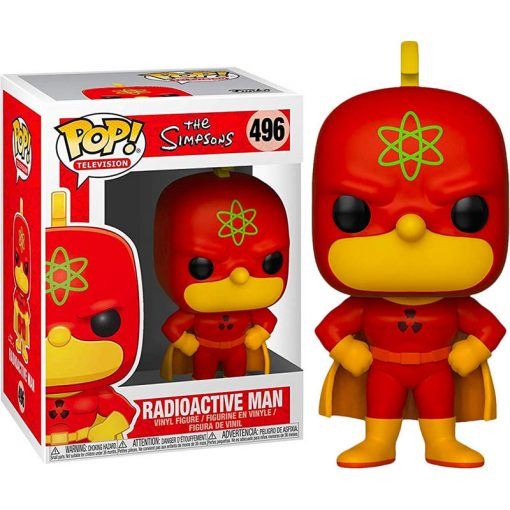 POP figura Simpsons Radioactive Man