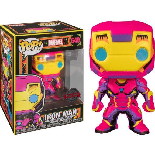 Marvel Black Light Iron Man